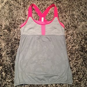 Like new lululemon built in bra tank top shirt 10